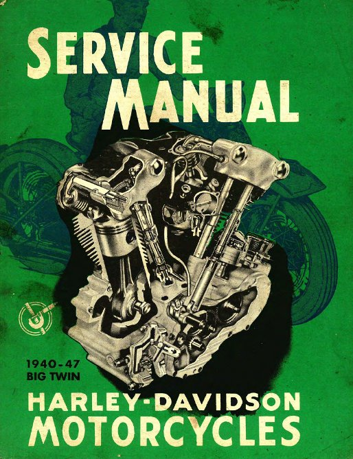 Harley-Davidson Big twins factory manual.