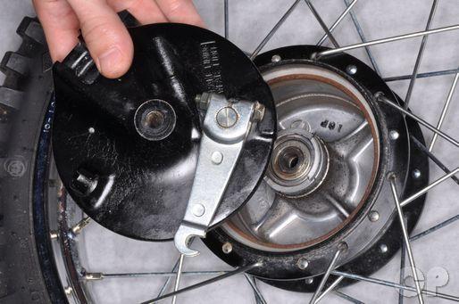 Suzuki JR80 Front Brake Panel Removal