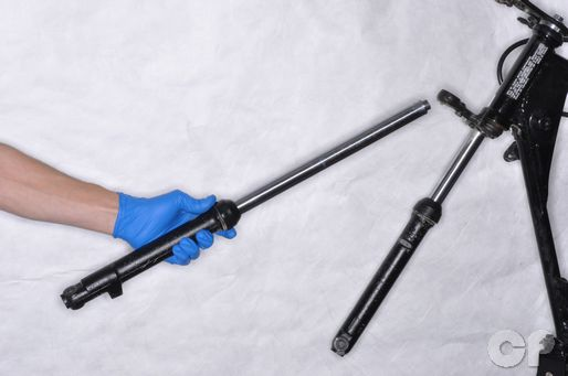 Suzuki JR80 Front Fork Removal
