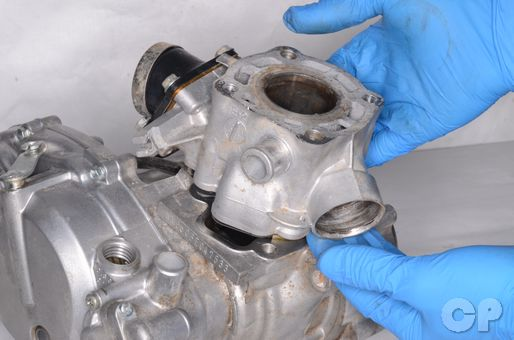 Kawasaki KX60 cylinder piston inspection replacement top end rebuild