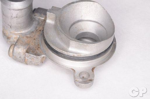 Kawasaki KX60 water pump impeller cover seal replacement