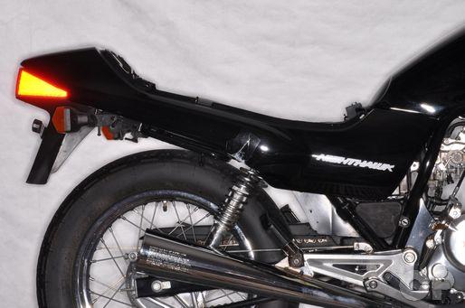 Honda CB250 Nighthawk tailsection removal.