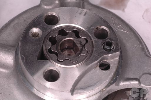 Honda CB250 Nighthawk oil pump clearances.