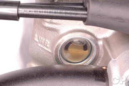 CRF150F Front Brake Master Cylinder brake fluid level
