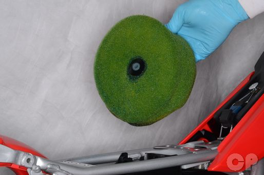 air filter cleaning and inspection