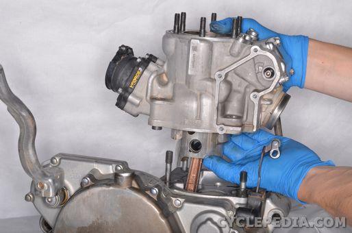 kawasaki kx250 2stroke piston cylinder top end rebuild replacement