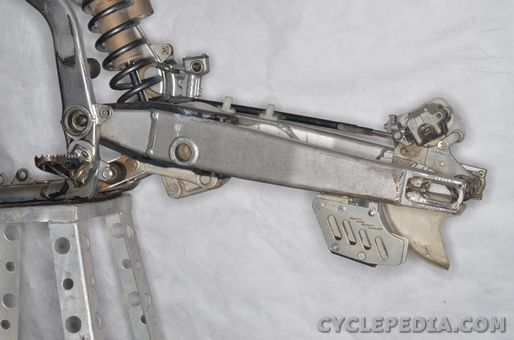 kawasaki kx250 rear shock absorber linkage swingarm pivot bearing grease