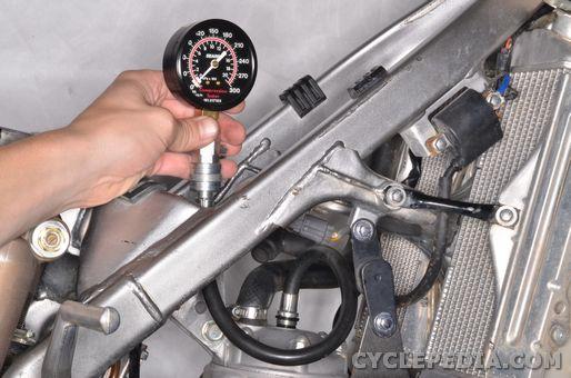 kawasaki kx250 torque specs compression test check specification spec