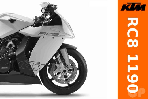 Online KTM RC8 1190 Official KTM Repair Manual