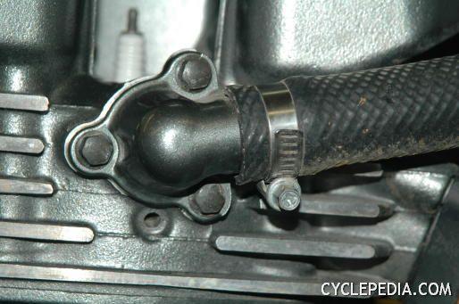 Kawasaki KLR650 coolant system