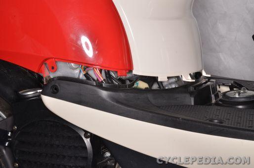 honda chf50 metropolitan body covers removal installation