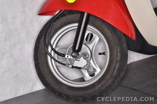 honda chf50 metropolitan wheel bearing inspection