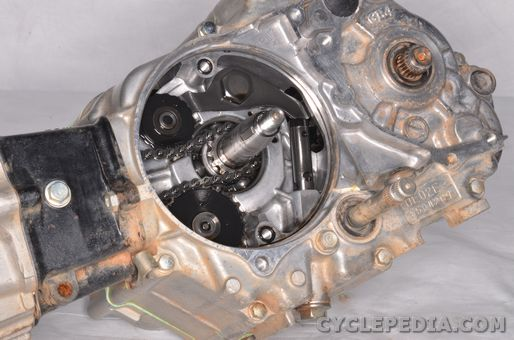 honda crf70 xr70 flywheel cam chain tensioner engine