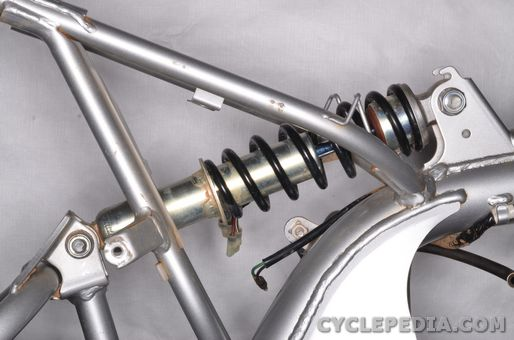 honda crf70 xr70 rear shock absorber swingarm