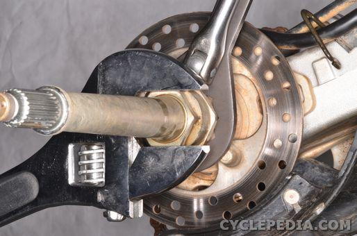 honda trx450r trx450er rear axle chain sprockets