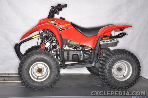 polaris 50 and 90 scrambler atvs online service manual cyclepedia rh cyclepedia com Polaris Scrambler 50 Carb Adjustments service manual polaris scrambler 500