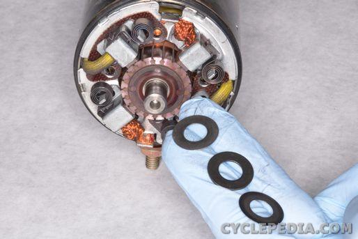 suzuki dr650se electric starter motor charging ignition