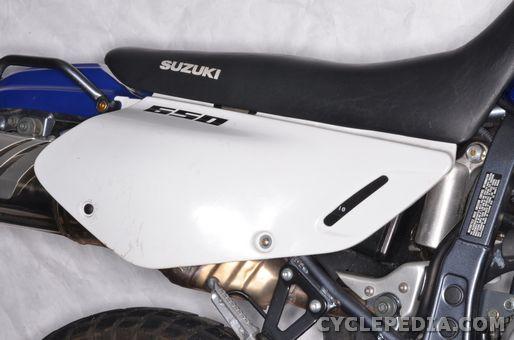 suzuki dr650se side covers seat fender headlight
