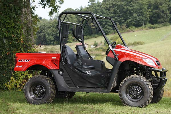 UXV 500 KYMCO 4X4 Side X Side Online Service Manual - Cyclepedia