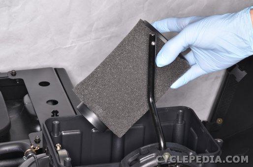 kymco uxv500 air filter service maintenance