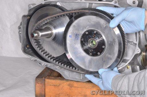 kymco uxv500 cvt pulley belt clutch