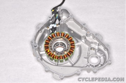 kymco uxv500 stator coil ignition pulse generator charging battery