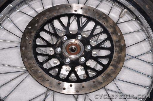 suzuki tu250x master cylinder front caliper disc brake pads