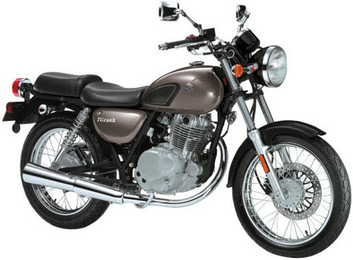 suzuki tu250x motorcycle online service manual by Cyclepedia Press LLC