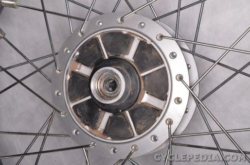 suzuki tu250x wheels axle inspection removal installation front rear wheel