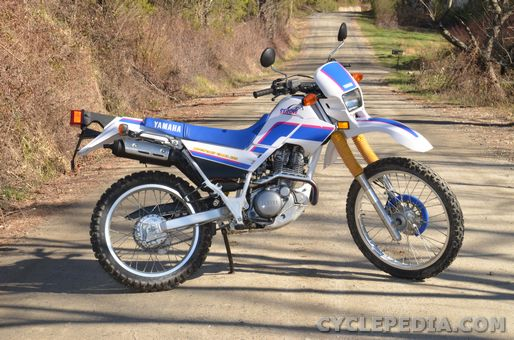 yamaha serow xt225 motorcycle online service manual 1992-2007