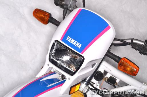 yamaha xt225 serow fender headlight shroud seat