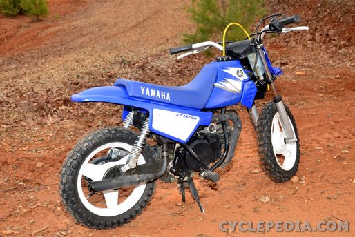 Super PW50 Yamaha Motorcycle Online Service Manual - Cyclepedia OD-29