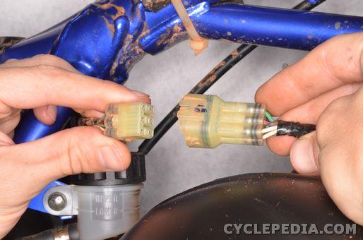 Yamaha YZ 85 Electrical System testing