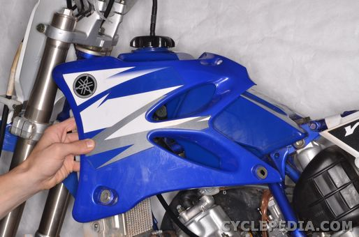 Yamaha YZ 85 External Components Side Cover