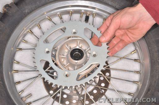 Yamaha YZ 85 Final Drive Rear Wheel Sprocket