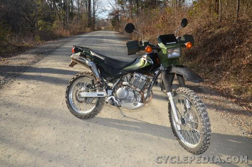Super Sherpa Kawasaki KL250 Motorcycle Service Manual - Cyclepedia