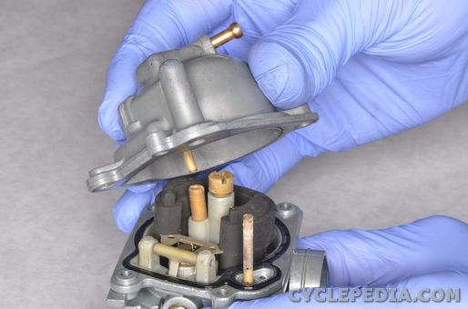 yamaha tt-r50 carburetor service clean jets float height valve