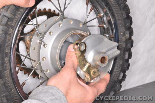 yamaha tt-r50 rear wheel front wheel bearings spokes