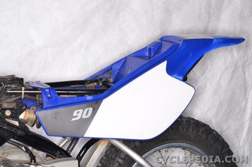 yamaha tt-r90 external components fender shroud bodywork
