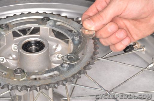 Yamaha XT 250 Drive Chain, Engine Sprocket, Rear Wheel Sprocket