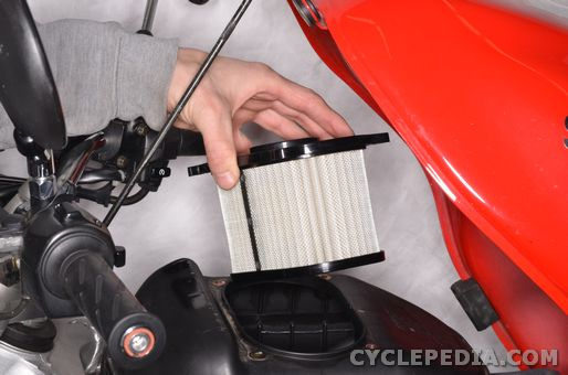 suzuki sv650 1999-2002 air filter replacement