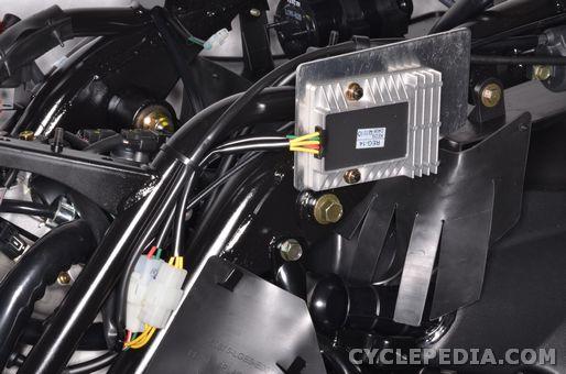 kymco people GT300i 200i regulator rectifier charging system ignition starter