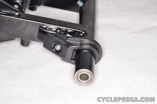 kymco mongoose 70 90 rear shock absorber swingarm pivot