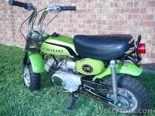 model history  the kawasaki mt1