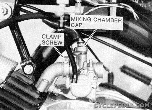 1971 1980 kawasaki kv75 mt1 online service manual cyclepedia disassembly engine removed