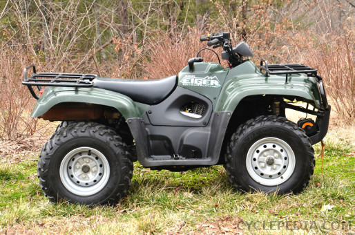 CPP 186t suzuki auto eiger lt a400 400f atv online service manual cyclepedia Suzuki ATV Schematics at webbmarketing.co