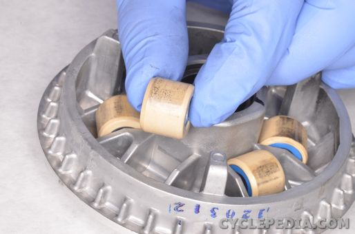 kymco super 8 150 125 50 4t cvt belt case removal installation inspection pulley clutch