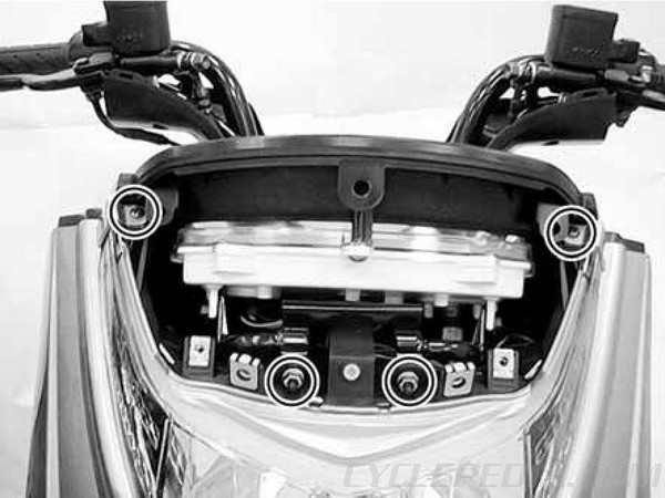 Frame Covers Body KYMCO Yager / Dink 200i and 125 Scooter