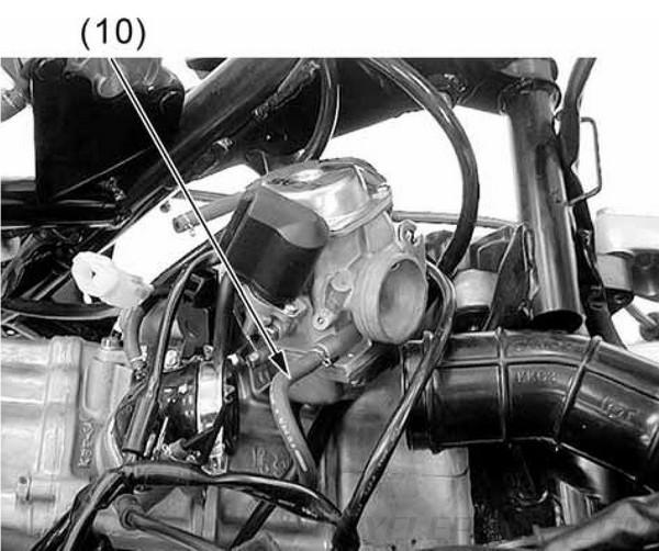 Carburetor Intake KYMCO Yager / Dink 200i and 125 Scooter