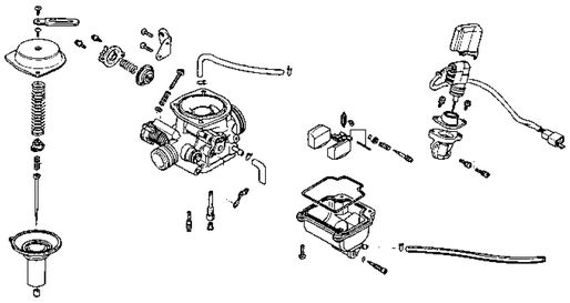 kymco carburetor diagram  kymco  free engine image for